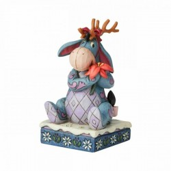 DISNEY - WINNIE THE POOH - FIGURINE 12 CM - SHOWCASE COLLECTION - TRADITIONS - WINTER WONDERS