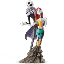 DISNEY - THE NIGHTMARE BEFORE CHRISTMAS - FIGURINE 22 CM - SHOWCASE COLLECTION - HAUTE COUTURE - JACK AND SALLY