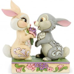 DISNEY - BAMBI - FIGURINE 10 CM - SHOWCASE COLLECTION - TRADITIONS - BUNNY BOUQUET-1