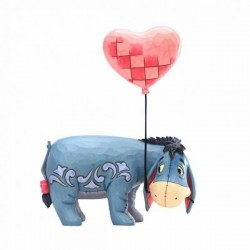 DISNEY - WINNIE THE POOH - FIGURINE 18 CM - SHOWCASE COLLECTION - TRADITIONS - LOVE FLOATS