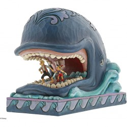 DISNEY - PINOCCHIO - FIGURINE 19 CM - SHOWCASE COLLECTION - TRADITIONS - A WHALE OF A WHALE-1