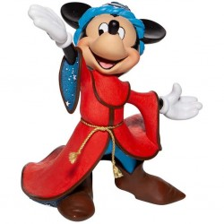 DISNEY - MICKEY MOUSE - FIGURINE 20 CM - SHOWCASE COLLECTION - HAUTE COUTURE - SORCERER MICKEY-1