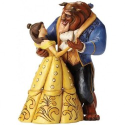 DISNEY - BEAUTY AND THE BEAST - FIGURINE 23 CM - SHOWCASE COLLECTION - TRADITIONS - MOOLINGHT WALTZ-1