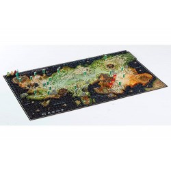 GAME OF THRONES - PUZZLE 4D 1350 PIECES AND 30 BUILDINGS - ESSOS MAP-1