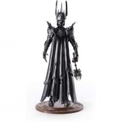 LORDS OF THE RINGS - FIGURINE 19 CM - TOYLLECTIBLE BENDYFIGS - SAURON-1