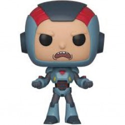 RICK AND MORTY - VINYL FIGURE POP N° 567 - MORTY IN MECH SUIT
