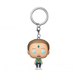 RICK AND MORTY - POCKET POP KEYCHAINS - DEATH CRYSTAL MORTY