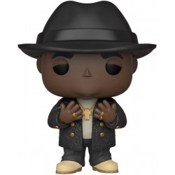 MUSIC - THE NOTORIOUS BIG - VINYL FIGURE POP N° 152 - NOTORIOUS BIG WITH FEDORA-1
