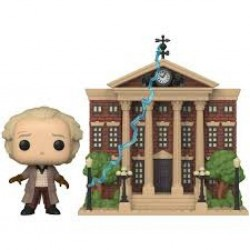 BACK TO THE FUTURE - VINYL FIGURE POP! N° 15 - DOC WITH CLOCK TOWER