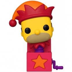 ANIMATION - THE SIMPSONS : TREEHOUSE OF HORROR - VINYL FIGURE POP! N° 1031 - JACK-IN-THE-BOX HOMER