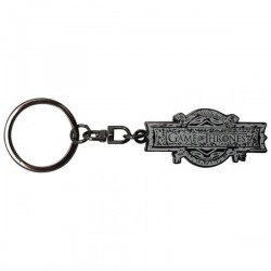 GAME OF THRONES - PORTE-CLES METAL - OPENING LOGO-1
