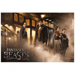 FANTASTIC BEASTS - PUZZLE 500 P - AND WHERE TO FIND THEM-1