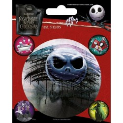 DISNEY - THE NIGHTMARE BEFORE CHRISTMAS - VINYL STICKERS - CHARACTERS