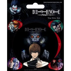 MANGAS - DEATH NOTE - VINYL STICKERS - CHARACTERS