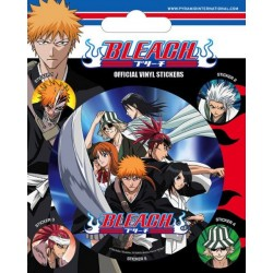 MANGAS - BLEACH - VINYL STICKERS - CHARACTERS