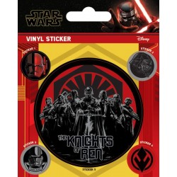 STAR WARS - THE RISE OF SKYWALKER - VINYL STICKERS - THE KNIGHTS OF REN