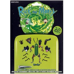 RICK AND MORTY - PACK DE 20 MAGNETS - WEAPONIZE THE PICKLE