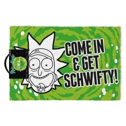 RICK AND MORTY - PAILLASSON 40X60 - GET SCHWIFTY-1