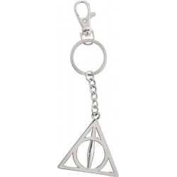 HARRY POTTER - PORTE-CLES METAL - DEATHLY HALLOWS