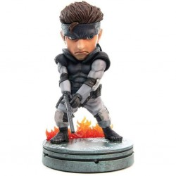GAMES - METAL GEAR SOLID - FIGURINE 20 CM - FIRST 4 FIGURES - SOLID SNAKE SD