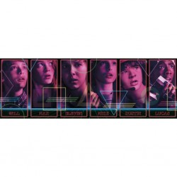 STRANGERS THINGS - PUZZLE 1000 PIECES - PANORAMA - CHARACTERS-1