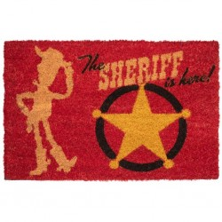 DISNEY - TOY STORY 4 - PAILLASSON 40X60 - THE SHERIFF IS HERE