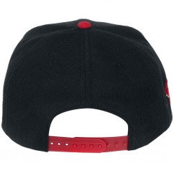 GAMES - PLAYSTATION - CASQUETTE SNAPBACK BLACK & RED - LOGO-1