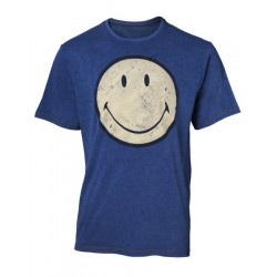 DIVERS - SMILEY - T-SHIRT BLUE - SMILEY (S)