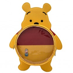 DISNEY - WINNIE THE POOH - SAC A BANDOULIERE - LOUNGEFLY - WINNIE + PIN COLLECTOR