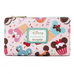 DISNEY - MICKEY MOUSE - PORTFEUILLE - LOUNGEFLY - SWEETS