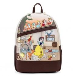 DISNEY - SNOW WHITE AND THE SEVEN DWARFS - SAC A DOS - LOUNGEFLY - MULTI SCENE