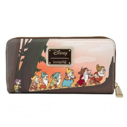 DISNEY - SNOW WHITE AND THE SEVEN DWARFS - PORTEFEUILLE - LOUNGEFLY - MULTI SCENE-1