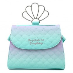 DISNEY - THE LITTLE MERMAID - SAC A BANDOULIERE - LOUNGEFLY - OMBRE SCALES