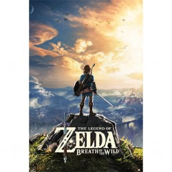 THE LEGEND OF ZELDA - BREATH OF THE WILD - POSTER 61X91.5 - SUNSET