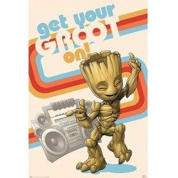 MARVEL - GUARDIANS OF THE GALAXY - POSTER 61X91.5 - GET YOUR GROOT ON