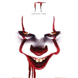 MOVIES - IT - CHAPTER TWO - POSTER 61X91 - PENNYWISE FACE