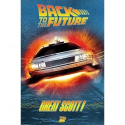 BACK TO THE FUTURE - POSTER 61X91.5 - GREAT SCOTT!