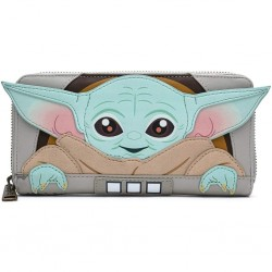 STAR WARS - THE MANDALORIAN - PORTEFEUILLE - LOUNGEFLY - CHILD CRADDLE