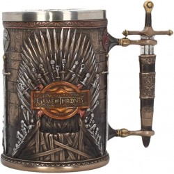 GAME OF THRONES - CHOPE A BIERE 60 CL - IRON THRONE