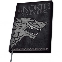GAME OF THRONES - NOTEBOOK A5 - STARK
