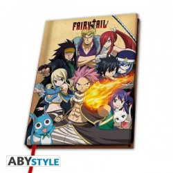 FAIRY TAIL - NOTEBOOK A5 - GROUPE-1