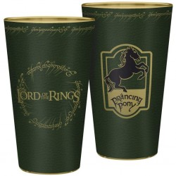 LORD OF THE RINGS - VERRE XXL 400 ML - PONEY FRINGANT