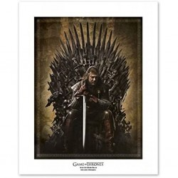 GAME OF THRONES - COLLECTOR ARTPRINT 50X40 - TRONE (EDITION LIMITEE 1500 EX)