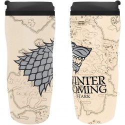 GAME OF THRONES - TRAVEL MUG 355 ML - WINTER IS COMING