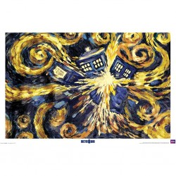 DOCTOR WHO - POSTER 61X91.5 - EXPLODING TARDIS