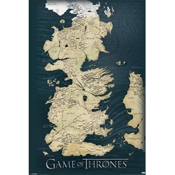 GAME OF THRONES - POSTER 61X91.5 - MAP