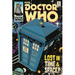 DOCTOR WHO - POSTER 61X91.5 - LOST IN TIME & SPACE