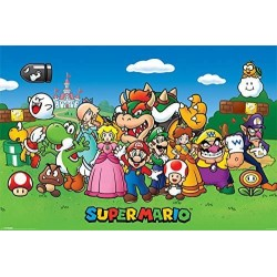 SUPER MARIO - POSTER 61X91.5 - CHARACTERS