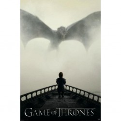 GAME OF THRONES - POSTER 61X91.5 - A LION & A DRAGON