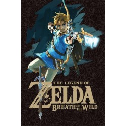 THE LEGEND OF ZELDA - BREATH OF THE WILD - POSTER 61X91.5 - GAME COVER